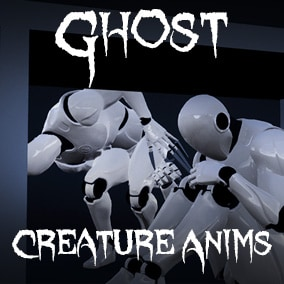 Collection of Ghost-like Creature Animations