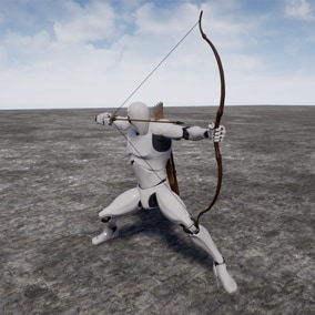 This is a set of 200+ animations for GhostSamurai Bow .