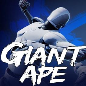 Giant Ape AnimSet + 33animations