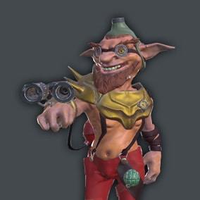 Goblin Pyromaniac With Flamethrower