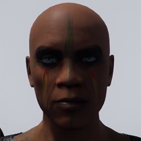 Gok dul - The shadow killer - 2 versions - faceanimation ready