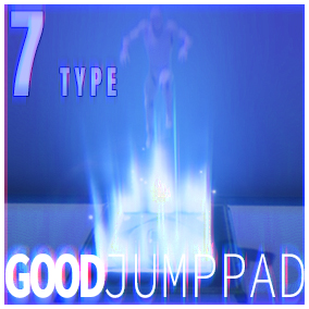 Good Jump Pad launches the player vertically force into the air when stepped on.Sound&FX included.