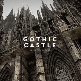 Gothic Castle Environment