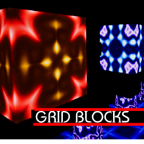 Grid Blocks is a high resolution collection of Textures and Materials to help with any project.