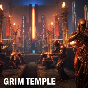 Here is a huge pack of grim architecture details and other different assets which you can use to make your own grim environment.