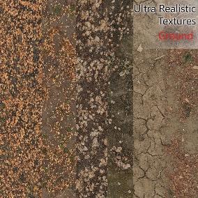 High-quality  Ground Materials 8k