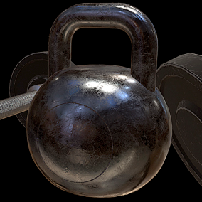 Stylized Gym Props Pack