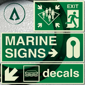 238 Official Marine Signs (ISO-2019)