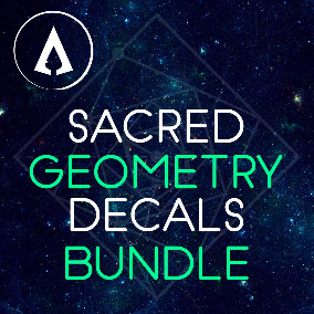 260+ High Quality Sacred Geometry Decals