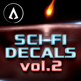 520+ fully customisable Sci-Fi Decals designed with ease of use and scalability in mind.