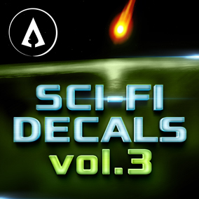 450+ fully customisable Sci-Fi Decals designed with ease of use and scalability in mind.