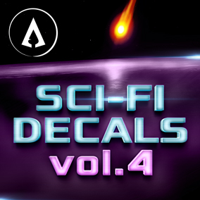 440+ fully customisable Sci-Fi Decals designed with ease of use and scalability in mind.
