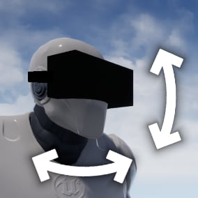 A really simple and fast plugin to recognize head gestures in vr.