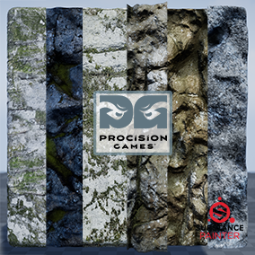 Six high quality rock materials made using photogrammetry. Four of the materials have procedural parameters that can be changed. The Sbsar files will be included. Substance Plugin is required to open the materials.