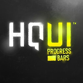 HQUI Progress Bars is a pack of highly customizable UMG Progress Bars.