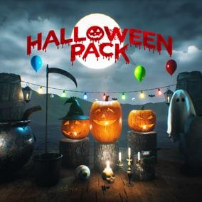 Cute Halloween Model Pack