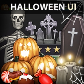 120 UI elements for your Halloween UI