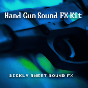 An explosive collection of game ready hand-gun sound effects.