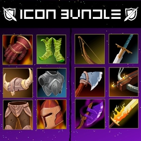 249 Premium Armor, Weapon And Equipment Icons That Will Take Your Game To The Next Level!