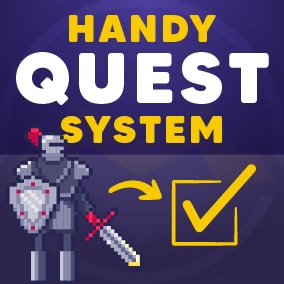Easily create quests, location goals, interaction goals, kills goals, and rewards.