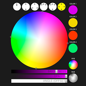 Harmonic Color Picker - The Color Scheme Designer