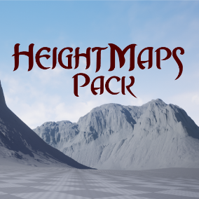 100 4033 x 4033 HeightMaps, 42 2048 x 2048 Landscape Brushes and 9 Maps!