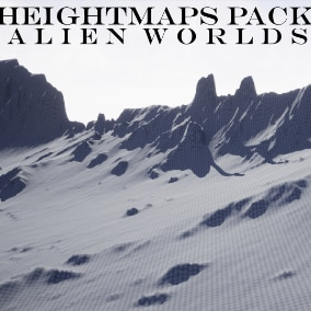 100 HightMaps in all (13 - 8129 x 8129 and 87 - 4033 x 4033 Heightmaps)