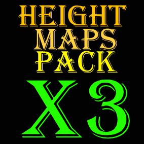 104 - 8129 x 8129 heightmaps!