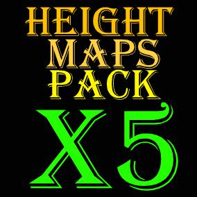 101 - 8129 x 8129 heightmaps + 5 playable maps!