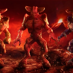 The low-poly model of Hell Demon is perfect for horror games, as well as RPG games, strategy games and shooters.