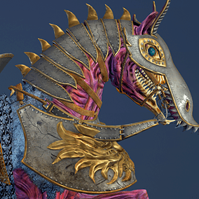Superior mount for your hero. Animated hell horse in knight's armor. Prefect for FPS and third person games.  Uses same rig and animations as my Horse for Heroes.