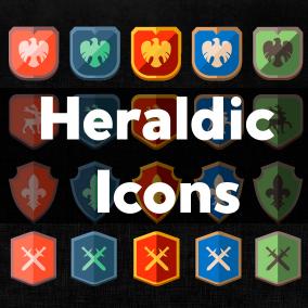 Unique Heraldic Icons