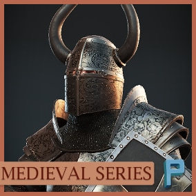 AAA quality animated knight is ready to use.
