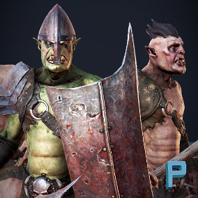 Top quality ORC with over 20 animations ready to use in your game!