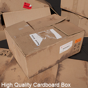 AAA quality low poly game prop Cardboard Box