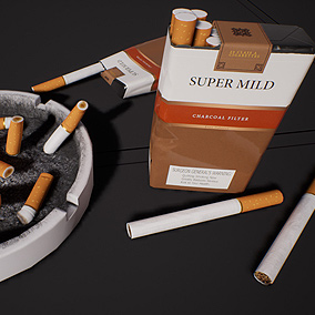 AAA Quality Cigarette Ashtray mini set