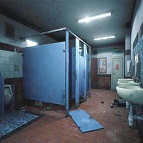 school bathroom. School Bathroom S