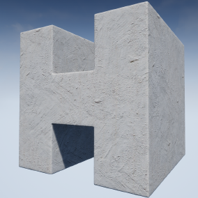 Highly customizable plaster materials with seamless textures. The pack includes a set of 25 material instance versions for windows/console, and an additional set of 25 material instance versions for mobile devices.