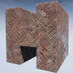 Highly customizable walkway materials with seamless textures. The pack includes a set of 25 material instance versions for windows/console, and an additional set of 25 material instance versions for mobile devices.