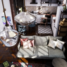 Collection of assets for your interior-projects. Contains 126 Items, 92 Materials, 54 Material Instances.