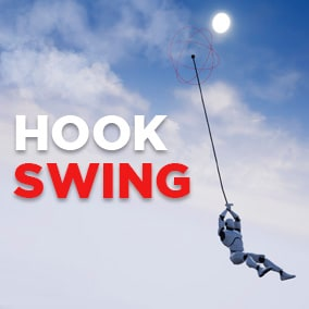 The PHYSICS BASED Hook Swing System you've always wanted!!