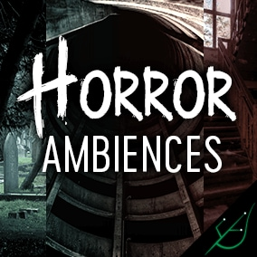 dark, disturbing & horror-inspired ambience loops