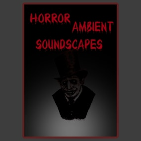 Horror Ambient Soundscapes contains 12 seamless loops