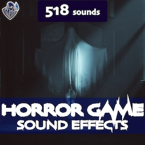 A collection of creepy sound effects for game scenes and a trailer for a horror game.