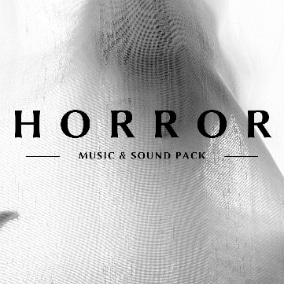 Horror music tracks ,ambient sound loops and sound effects