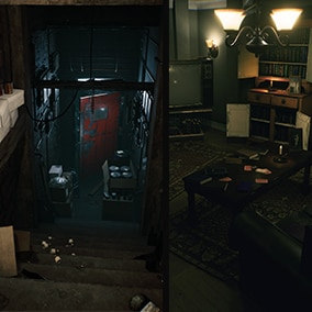 This Bundle includes the two Horror Environments: Horror Corridor and Horror Living Room