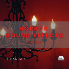 A collection of 1166 horror themed sound effects.