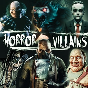 Awesome Horror Villains Pack are inspired by horror movies. They are made for productions which want create very creepy horror games with very good quality models.