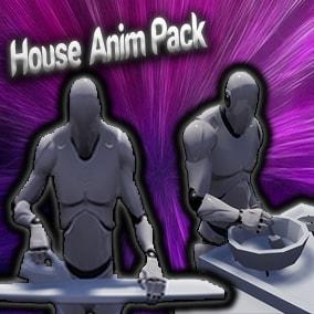 30 House Anim Pack