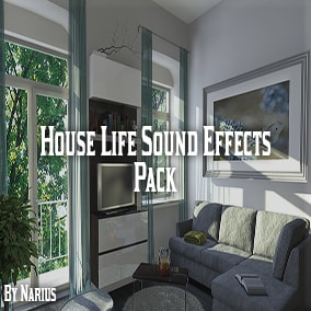 This pack contains 100 high quality house life sound effects.